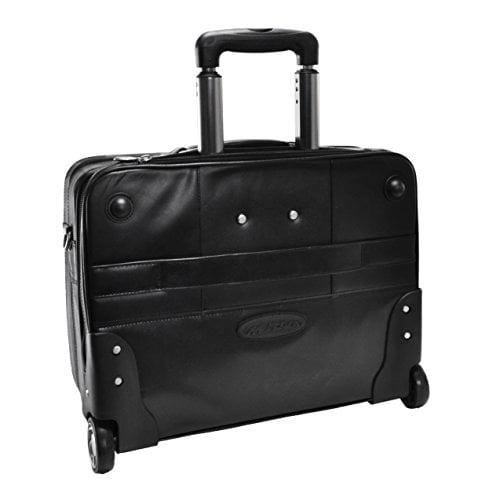 McKlein USA R Series LaSalle  Leather Laptop Briefcase