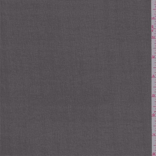 Black Silk Chiffon, Fabric Sold By the Yard