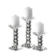 WESTPORT SET OF 3 CANDLE HOLDERS