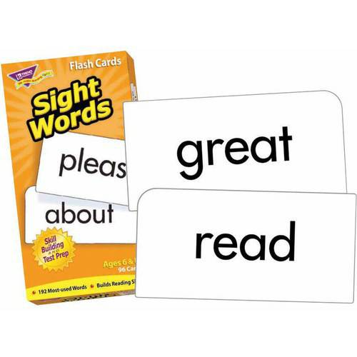 Trend Sight Words Flash Cards, Set of 96