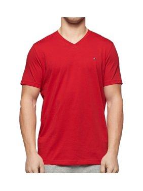 Men's Tommy Hilfiger 09T3140 Core Flag V-Neck T-Shirt