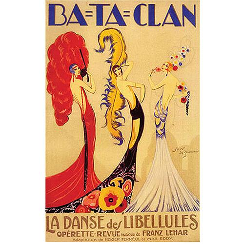 "Trademark Fine Art ""Bataclan"" Canvas Art by Jose de Zamora"