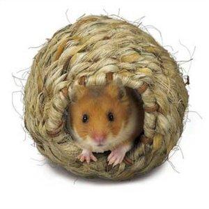 Super Pet Hamster Grassy Roll-a-Nest, Small Multi-Colored