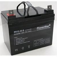 PowerStar agm1235-103 Battery 2 Year Warranty For John Deere Front Mower F525