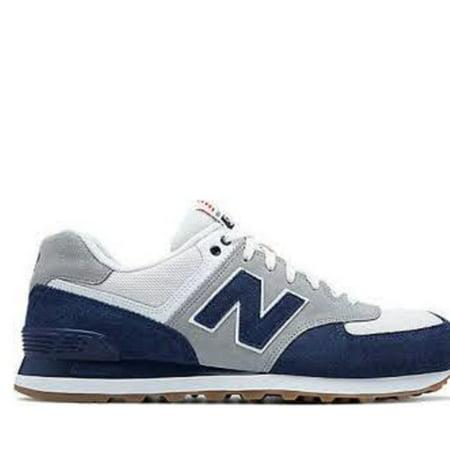 new balance 574 blu navy