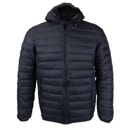 Maximos USA Men's Insulated Packable Hooded Puffer (Best Packable Puffer Jacket)