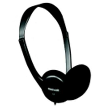 Maxell Light-Weight Open Air Stereo Headphone, Black