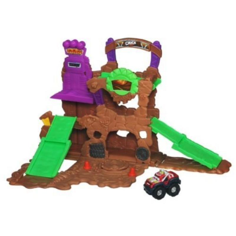 Playskool Tonka Chuck & Friends Monster Rally Mud Mountain Playset by