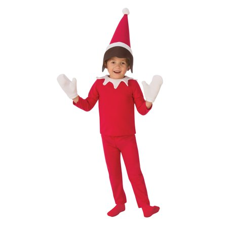 Boys Sitting Elf Costume - Elf Dressing Up Costume
