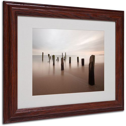 "Trademark Fine Art ""Beyond Measure"" Matted Framed Art by Geoffrey Ansel Agrons, Wood Frame"