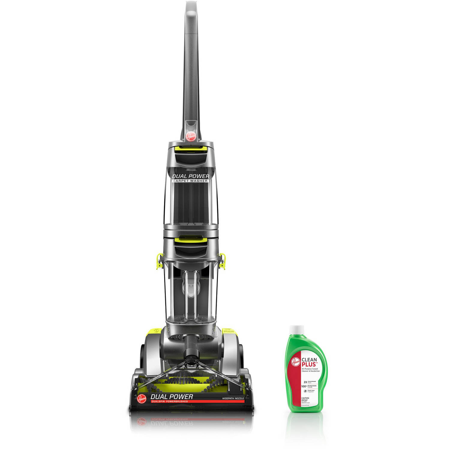 hoover carpet shampoo hoover dual power carpet cleaner fh50900 walmart 29125