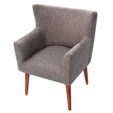 Costway Leisure Arm Chair Single Couch Seat Home Garden Living ...