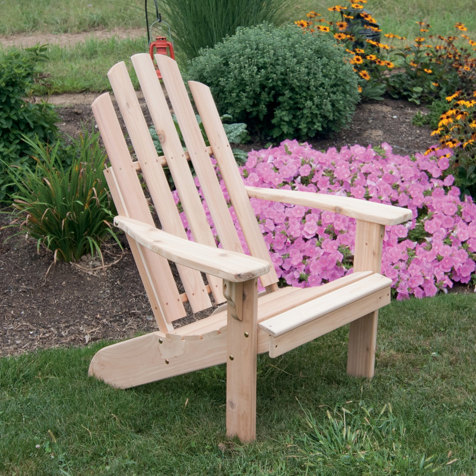 A & L Furniture Kennebunkport Western Red Cedar Adirondack Chair by A and L Furniture Co