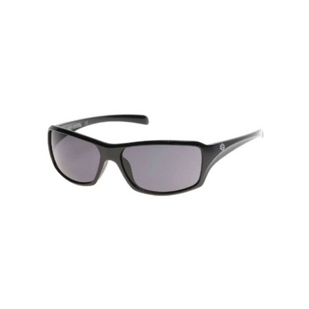Harley-Davidson Men's Bar & Shield Sunglasses, Shiny Black Frame & Smoke Lens, Harley Davidson