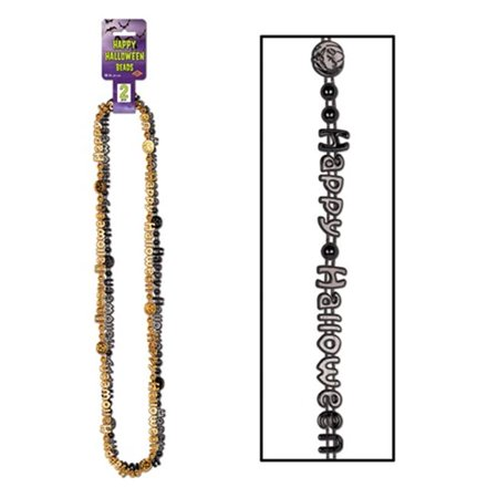 Happy Halloween Beads of Expression - 2-pkg Pack of 12 - Halloween Expressions