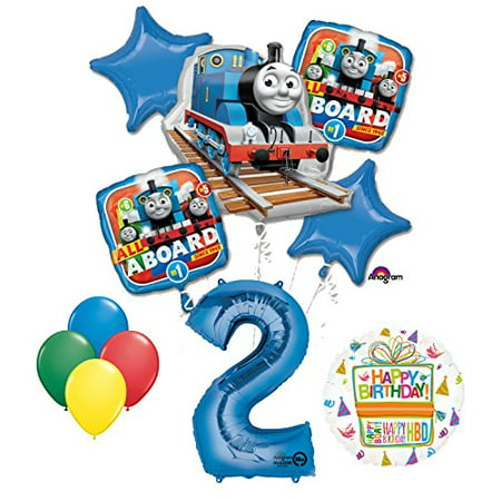 The Ultimate Thomas the Train Engine 2nd Birthday Party Supplies