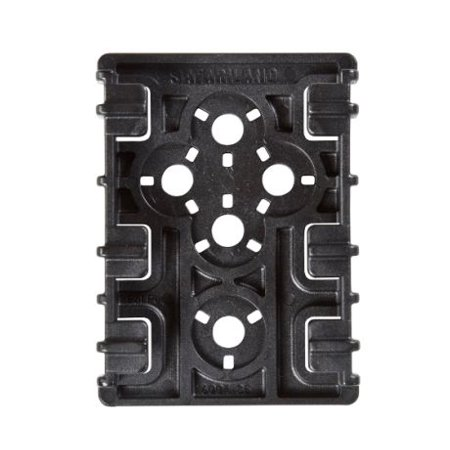 SAFARILAND ELS RECEIVER PLATE HARD PLASTIC BLACK 2PCS