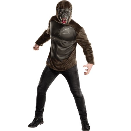 Kong Skull Island Mens Deluxe King Kong Muscle Chest Gorilla Halloween Costume - Halloween Menu Hong Kong