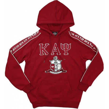 Kappa Alpha Psi Halloween Party (Big Boy Kappa Alpha Psi Divine 9 S4 Pullover Mens Hoodie [Crimson Red -)