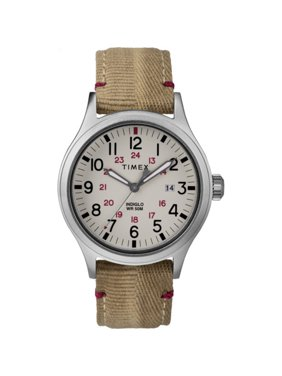 Timex Men's Allied 40mm Khaki Fabric Strap| Watch TW2R61000