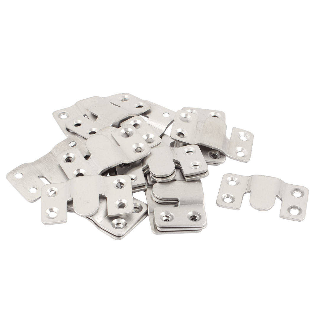Stainless Steel Sofa Couch Sectional Furniture Connector 20pcs