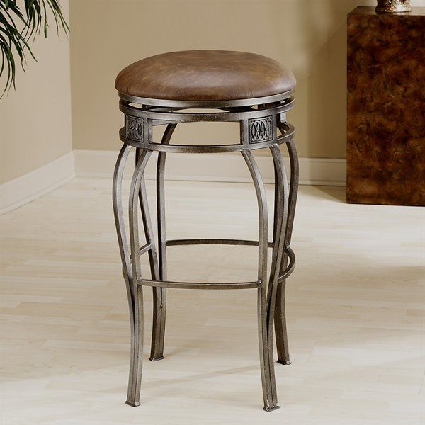 Hillsdale Furniture 4361-8 Montello Backless Swivel Bar Stool by Hillsdale Furniture
