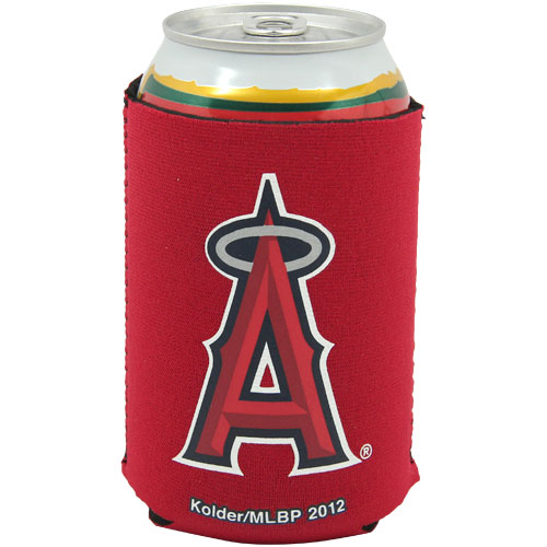 Los Angeles Angels Collapsible Can Cooler - Red - No Size