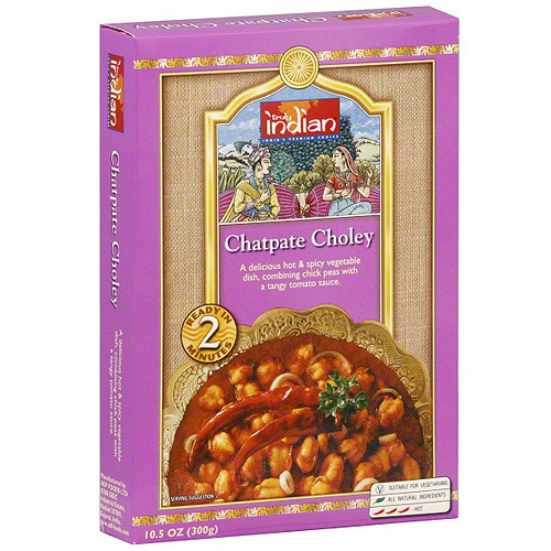 Truly Indian Chatpate Choley, 10.5 oz (Pack of 6)