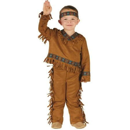 84e15e8cb1 Native American Toddler Male Halloween Costume - Walmart.com