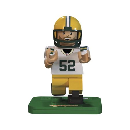 Nfl Gen3 Green Bay Packers Clay Matthews Limited Edition Minifigures  Green  Small  Your Mini Figure Looks Just Like The Real Player  By Oyo