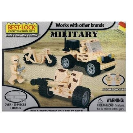 Best Lock 120 Pieces Military
