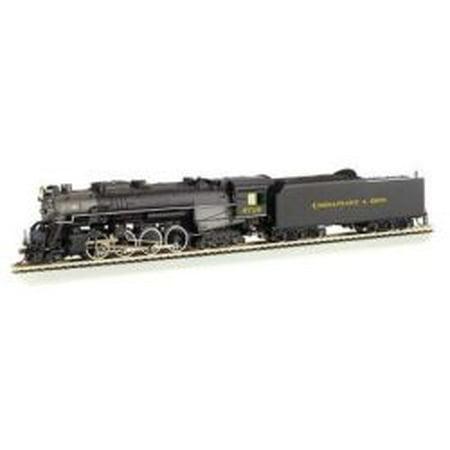 - Bachmann-2-8-4 Kanawha/Berkshire w/Sound & DCC -- Chesapeake & Ohio #2718 (black