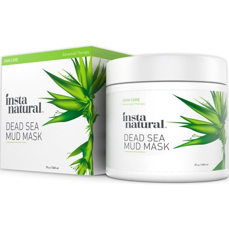 Dead Sea Mud Mask   Reduce Facial Pores   Organic For Oily   Acne Prone Skin  Blemishes   Complexion   Mineral Infused Fine Line Reducing Product With Shea Butter   Aloe Vera   19 Oz