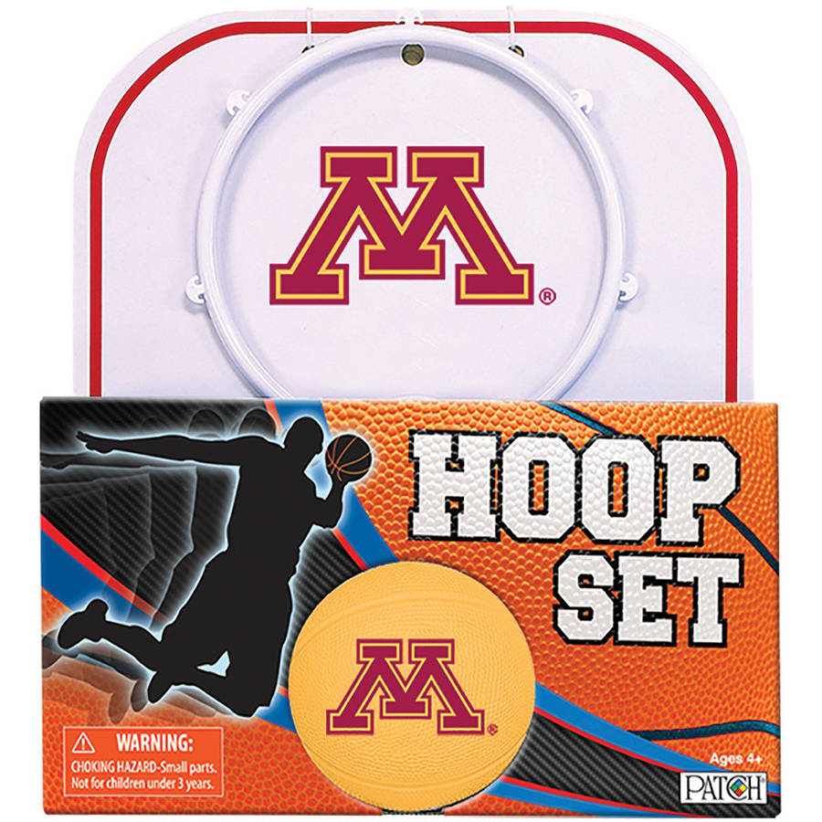 Officially Licensed NCAA Minnesota Hoop Set