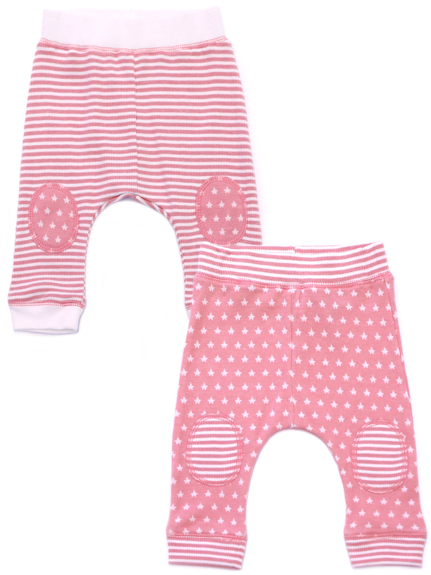 Kapital K Harem Jogger Pants, 2-pack (Baby Girls)
