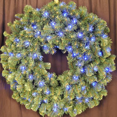 Queens of Christmas Pre-Lit LED Sequoia Wreath