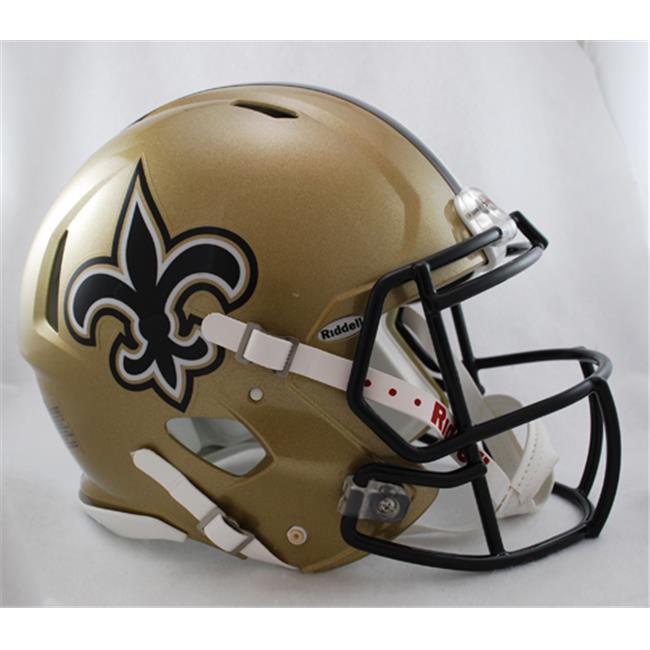 Creative Sports Enterprises RDRSA-SAINTS New Orleans Saints Riddell Speed Revolution Full Size Authentic Proline