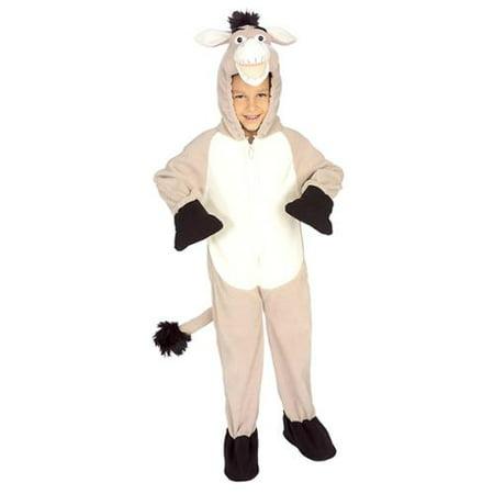 Deluxe Donkey Child Costume - Small - Donkey Costume Kids