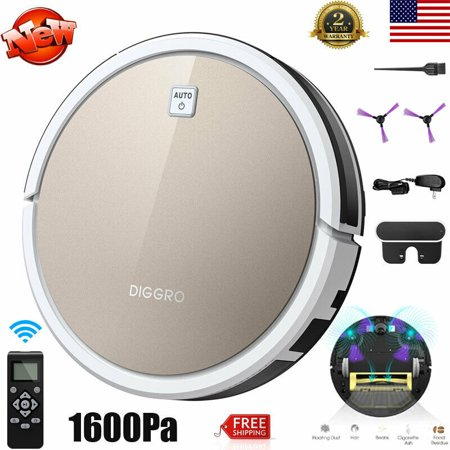 ILIFE V5S Pro Smart Robotic Vacuum Cleaner Cordless Dry Wet Sweeping Cleaning Machine ()