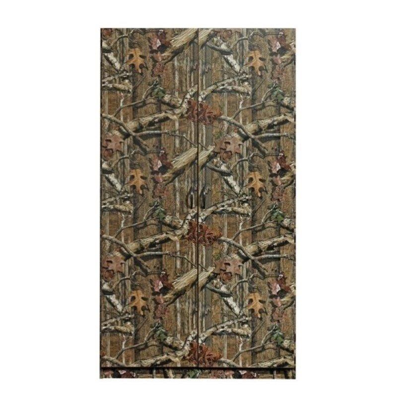 Pemberly Row Wardrobe Armoire in Mossy Oak