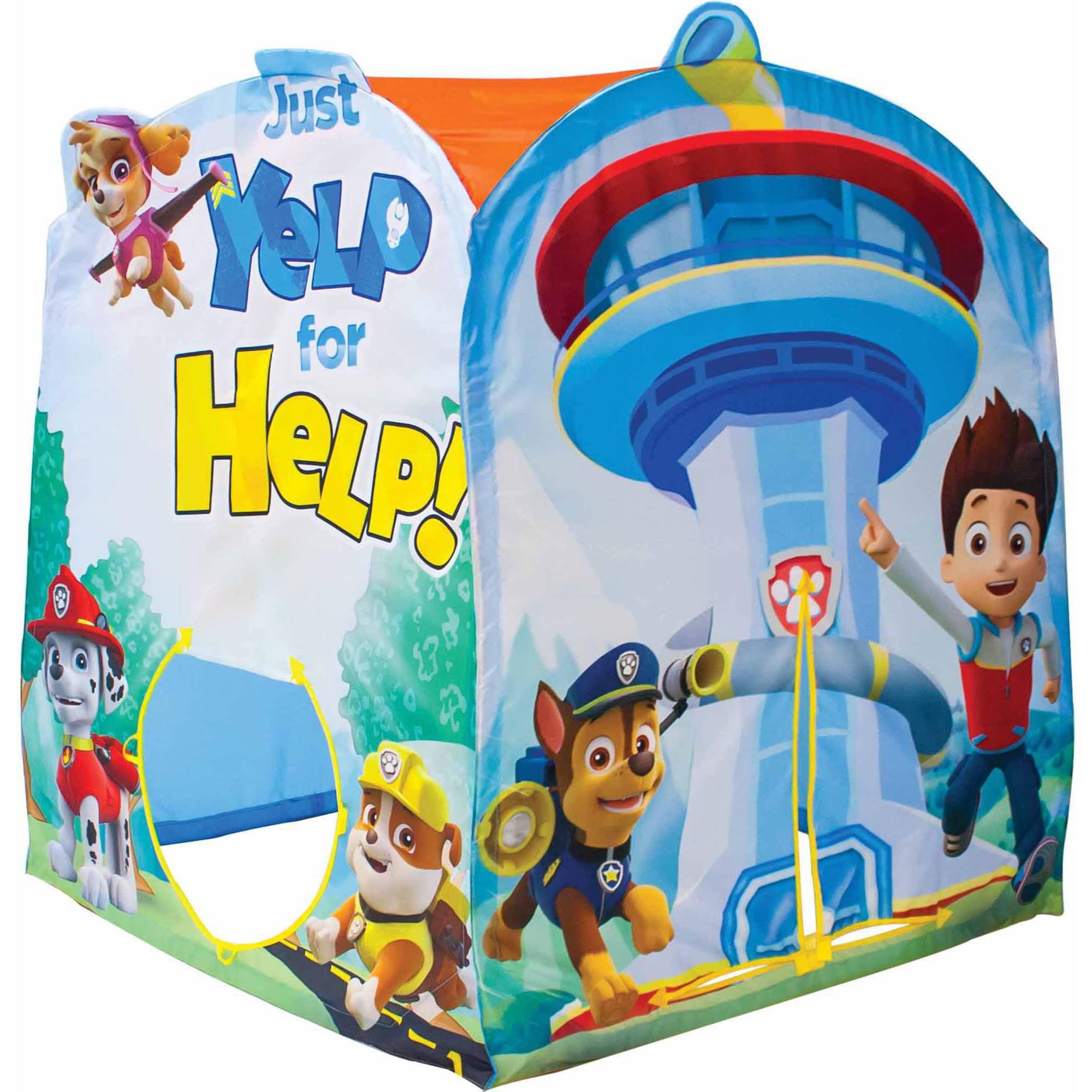 Playhut Nickelodeon Paw Patrol Make Believe N Play Tent