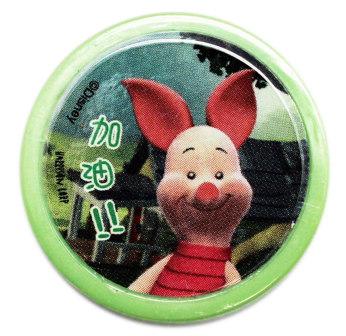 Disney's My Friends Tigger & Pooh Green Case Piglet Stamp
