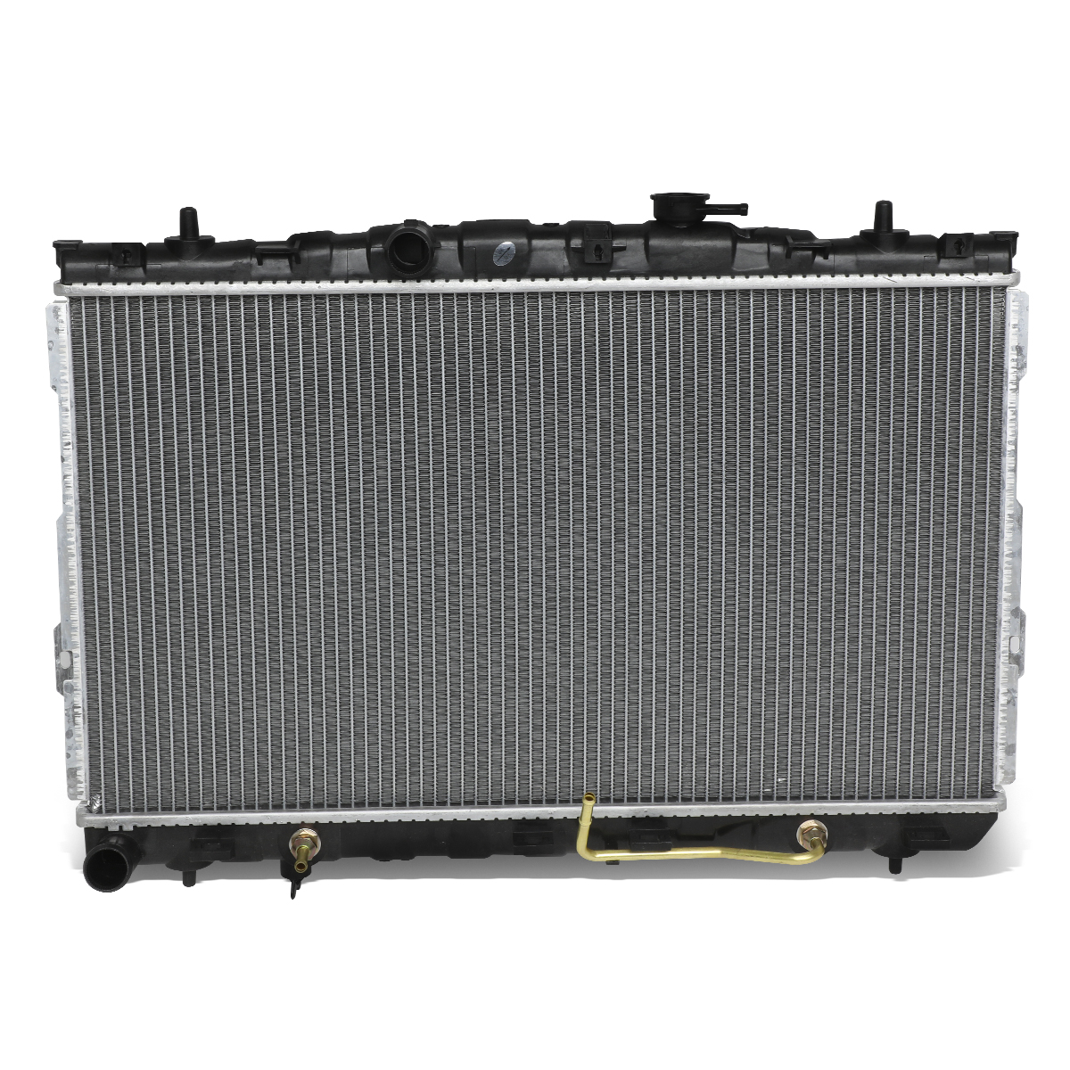 """For 2001-2006 Elantra AT Models 1-5/16"""" Inlet OE Style Aluminum Direct Replacement Racing Radiator"""