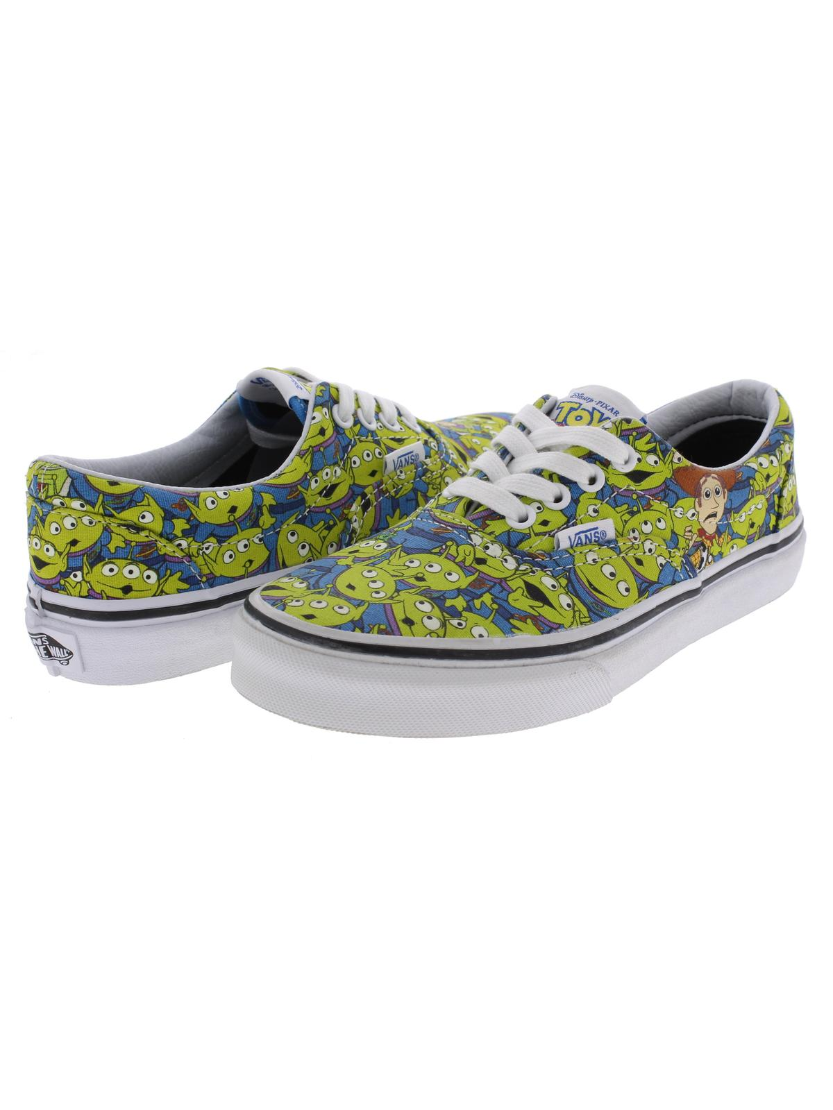 705f3b56be Vans - Vans Womens Era Toy Story Fashion Aliens Skateboarding Shoes -  Walmart.com