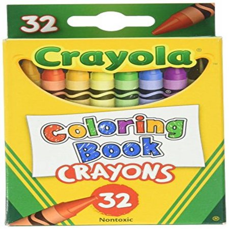 Readerlink Books 32 Ct Crayon Coloring Book