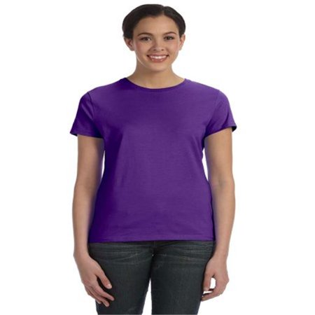 Michelle Mason Blouse - Womens Nano-T T-Shirt, Purple - 3XL