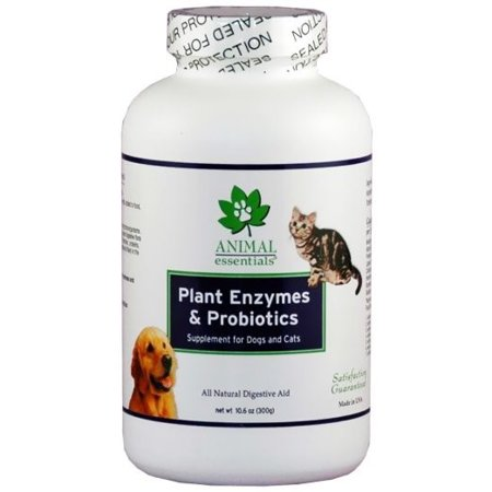 Animal Essentials Plant Enzyme & Probiotics Dog & Cat Supplement, 10.6 Oz
