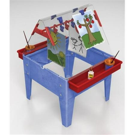 Manta Ray S13518 Toddler Basic Easel - Blue Frame