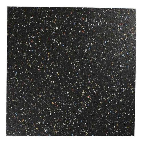 8501-1/16A Recycled Rubber, 1/16 In Thick, 12x12 In