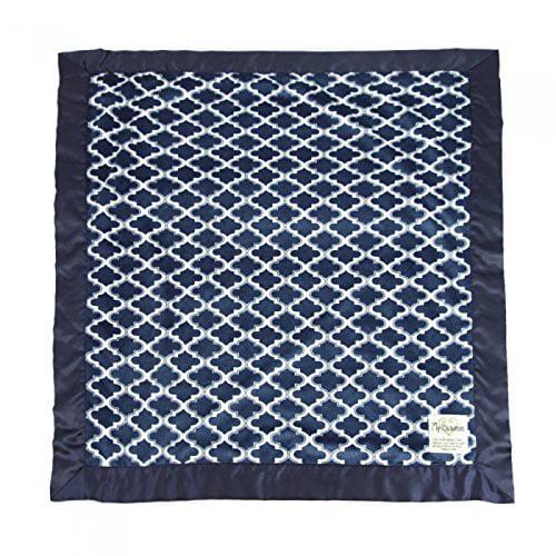 My Blankee Moroccan Mini Tile Minky Baby Blanket, 30' X 3...